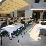 Brela - restaurace v části Jakiruša