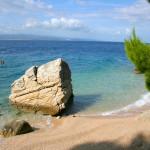 Brela - pláž v části Jakiruša