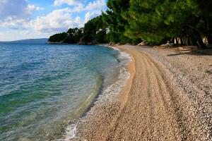 Drvenik - pláž