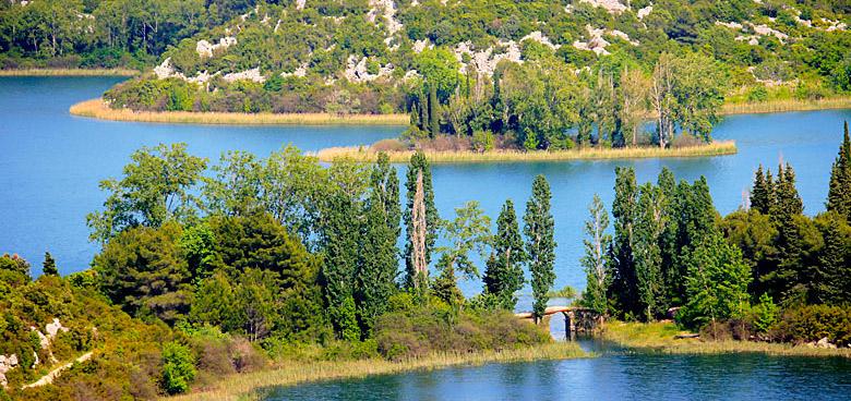Baćinská jezera, Chorvatsko