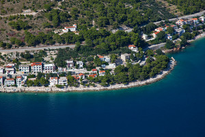 Kostel sv. Rocha, Drvenik, Makarská riviéra, Chorvatsko
