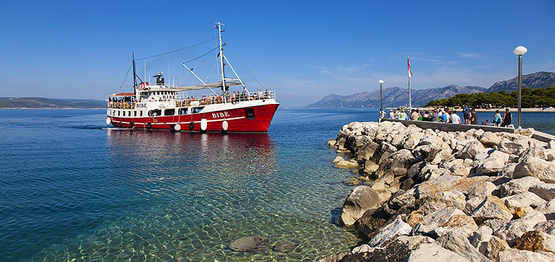 Lodní výlety, Makarská riviéra, Chorvatsko