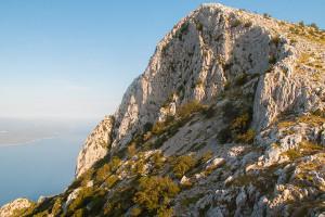 Vošac, pohoří Biokovo, Chorvatsko